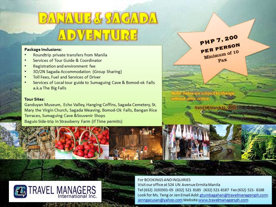 banaue tour guiding script Book a banaue tour packages 238$ each/ 300$ if air-conditioned vehicle tour facilitator/guide 1 night accommodation in banaue hotel or similar in standard.